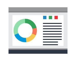diagram card image vector icon logo symbol