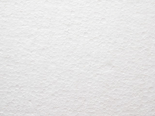 Close Up of Polystyrene foam texture background