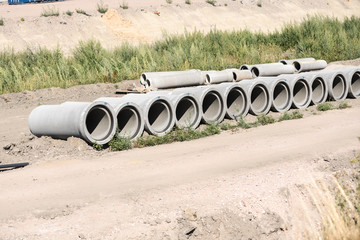 stone sewer pipe
