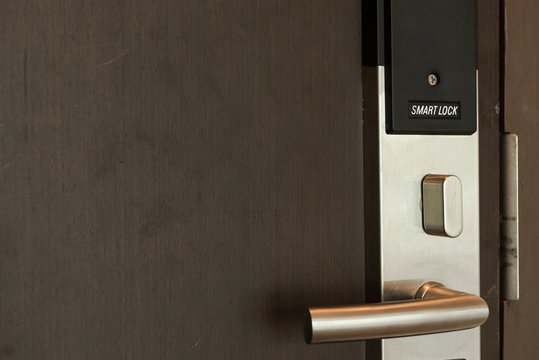 Smart card door key lock system,modern technology for safety