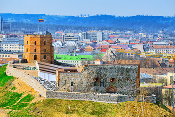 Gediminas Castle Tower or Gedimin's Tower Wall mural