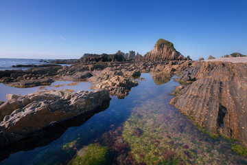 Playa de La Gueirúa . Asturian Coast . Spain