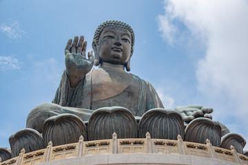 Tian Tan Buddha  statue Hong Kong.