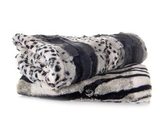 blankets in studio