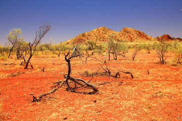 Pilbara Range in Western Australia