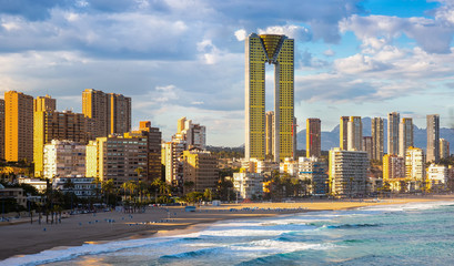 benidorm city view