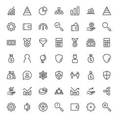 Trade flat icon