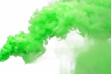 Green smoke Wall mural