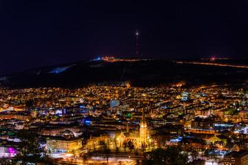 Fotobehang Crimson Sundsvall city