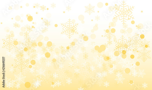 Background on a gold and white abstract backdrop with silk fabric ...