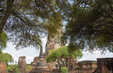 タイ・アユタヤ・遺跡・世界遺産・ワット・プラ・ラム