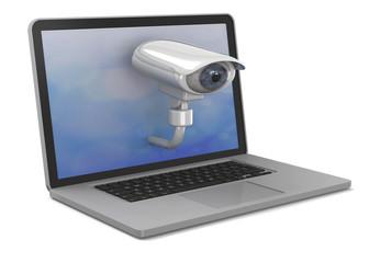 No Privacy Concept - 3D