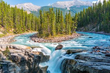 Sunwapta Falls, Rocky Mountains Canada