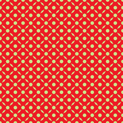 Seamless grid texture of the surface. Abstract dotty pattern with trapeziums. Tile background. Template for polygraphy, posters, t-shirts and textiles. Doodle for design