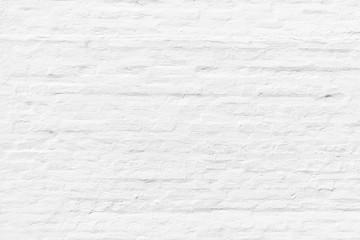 pattern of white painted brick wall