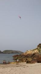 Paramotor. Paragliding. Parapente