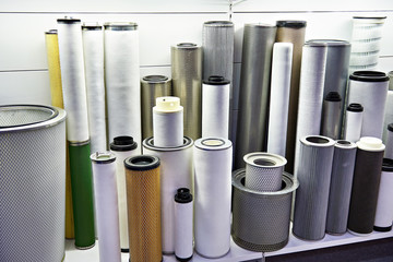 Filter elements for industrial