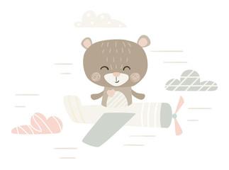 Bear cute print