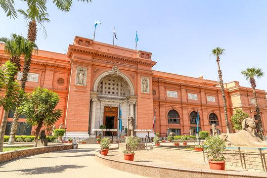 Egyptian Antiquities Museum in Cairo