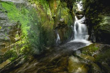 Beautiful White Stone's Waterfall (Cachoeira da Usina), Paraty-Sertão do Taquari Rio de Janeiro