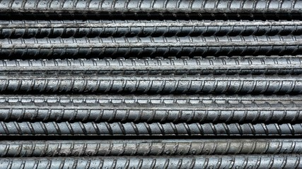 rebar steel for construction - pattern