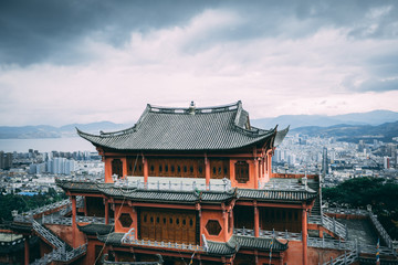 Chinese Cultural Temple 1 Fototapete