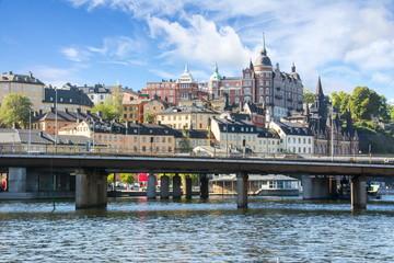 Sodermalm district of Stockholm, Sweden