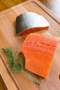 Fresh, Wild Caught Salmon