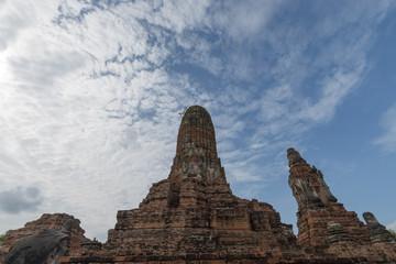 タイ・アユタヤ・遺跡・涅槃像・世界遺産・ワット・プラ・シーサンペット