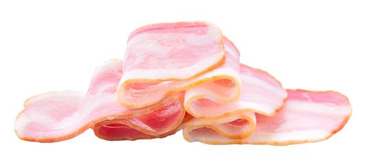 Ham isolated on white background.