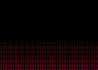 Schwarzer Hintergrund mit Farbverlauf aus roten Punkten