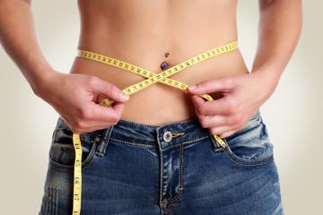 Umfang vermessen Diät