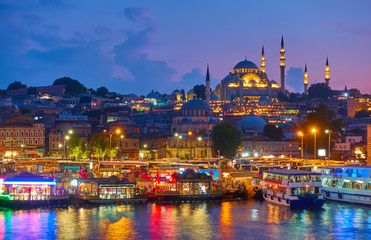 Canvas Prints City on the water Old town of Istanbul