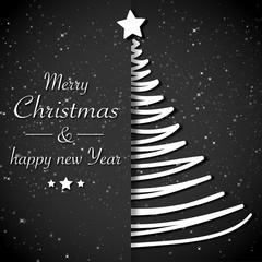 Weihnachtsbaum Weihnachtskarte