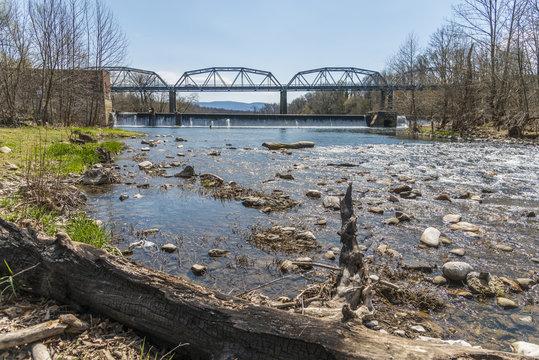 Shenandoah river bridge, Virginia