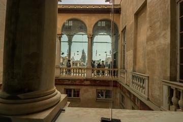 Foto op Textielframe Artistiek mon. Palazzo Brignole-Sale detto Palazzo Rosso, il Sistema dei Palazzi dei Rolli, Genova, Liguria, Italia