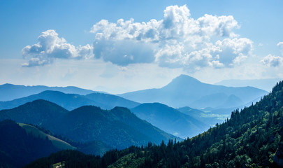 Foto auf Gartenposter Gebirge hochfelln mountain