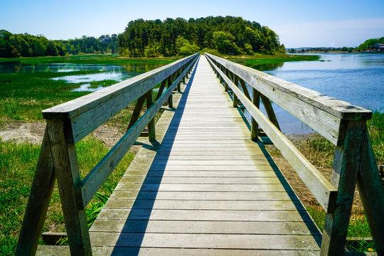 Uncle Tim's Bridge in Wellfleet, Massachusetts