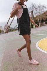 African american vintage girl