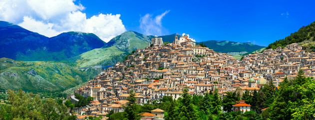 Morano Calabro - one of the most beautiful medieval villages of Italy