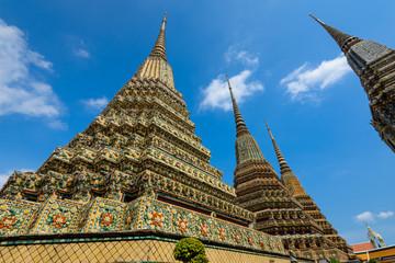 Wat Pho or Wat Phra Chetuphon Vimolmangklararm Rajwaramahaviharn is one of Bangkok's oldest temples, it is on Rattanakosin Island, directly south of the Grand Palace.