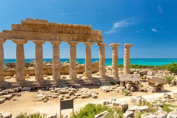 Tempio Greco di Selinunte, Sicilia, Italia