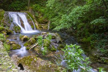 Bigar spring waterfall Romania