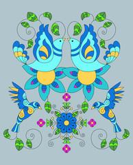 pajaros ornamentales mexicanos