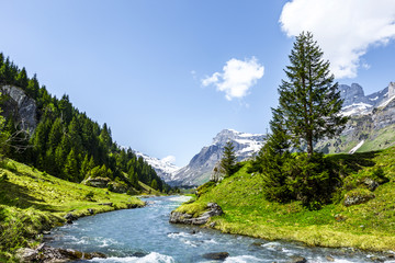 Schweizer Berge Fototapete