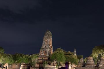 タイ・アユタヤ・遺跡・涅槃像・世界遺産・ワット・プララム