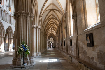 Wells cathedral south aisle