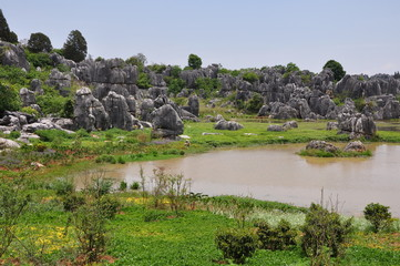 Stone Forest. Shilin Park, China