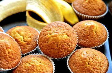 Banana muffins are easy for kids to make..Easiest and best Banana cupcakes .