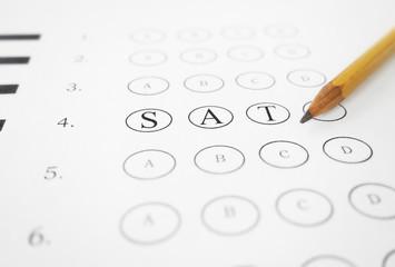 SAT multiple choice